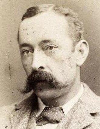 A. R. Colquhoun - Colquhoun in 1882