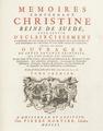 Arckenholtz bok om drottning Kristina från 1751 - Skoklosters slott - 91439.tif