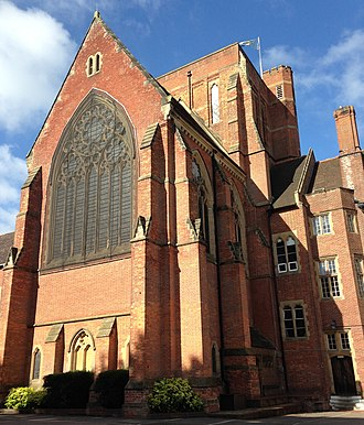 Ardingly College Chapel - Image: Ardingly College (public school) Chapel