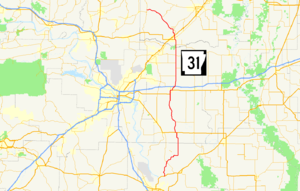 Arkansas Highway 31 - Image: Arkansas 31