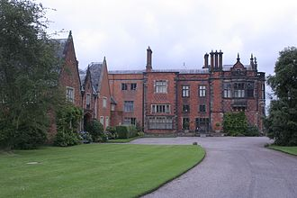 Arley Hall - West front