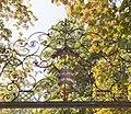 Armoiries sur le portail du château de Dully (Suisse).jpg