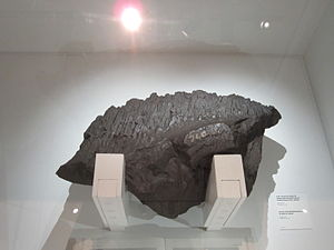 SMS Moltke - A chunk of armor blown off Moltke during the Battle of Jutland