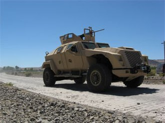Humvee replacement process - The Combat Tactical Vehicle, a prototype Joint Light Tactical Vehicle