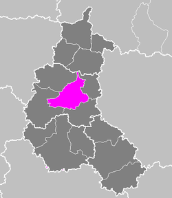 Location of Châlons-en-Champagne in Champagne-Ardenne