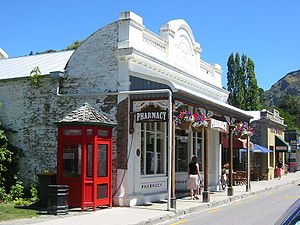 Pharamacy in Arrowtown. Arrowtown is located c...