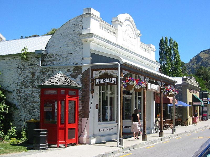 Art Deco Town South Island New Zealand
