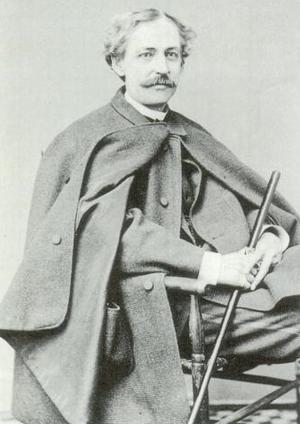 Arthur D. Gilman - Portrait of Gilman, ca.1870