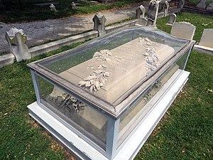 Arunah Shepherdson Abell - Image: Arunah Shepherdson Abell Gravestone Detail