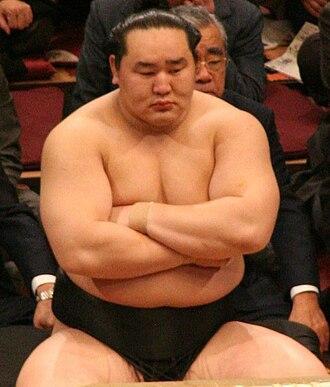 Asashōryū Akinori - Asashōryū in January 2008