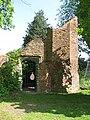 Ashby de la Zouch castle small brick tower.JPG
