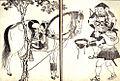 Ashigaru watering a horse.JPG