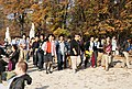 Asian tourists in the Jardin du Luxembourg, 25 October 2012.jpg