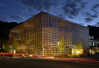 Aspen Art Museum - Aspen Art Museum Building designed by architect Shigeru Ban