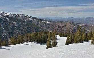 Aspen Highlands - Image: Aspen Highlands spring skiing