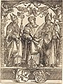 Attributed to Wolf Traut, Saints Maximilian, Stephen, and Valentine, NGA 6815.jpg