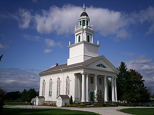 National Register of Historic Places listings in Portage County, Ohio - Image: Atwater Congregational Church