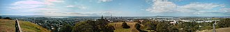 Auckland City - View of part of Auckland City from Maungawhau / Mount Eden