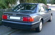 Audi 100 C4 rear 20071007.jpg
