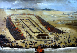 Polish–Lithuanian royal election, 1764 - Audience of Papal Nuncio during the election of Stanisław August Poniatowski