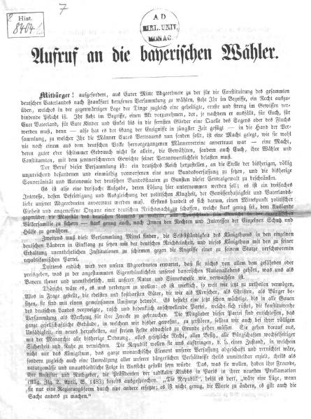 File:Aufruf an die bayerischen Waehler.djvu