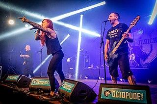 Walls of Jericho (band) American metalcore band
