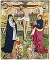 Augustins - Christ en croix entre la Vierge, saint Jean et les donateurs présumés, le roi Charles VII et le Dauphin - Anonyme 2004 1 302.jpg
