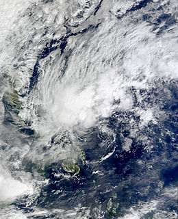 Tropical Depression Auring (2009) Pacific tropical depression in 2009
