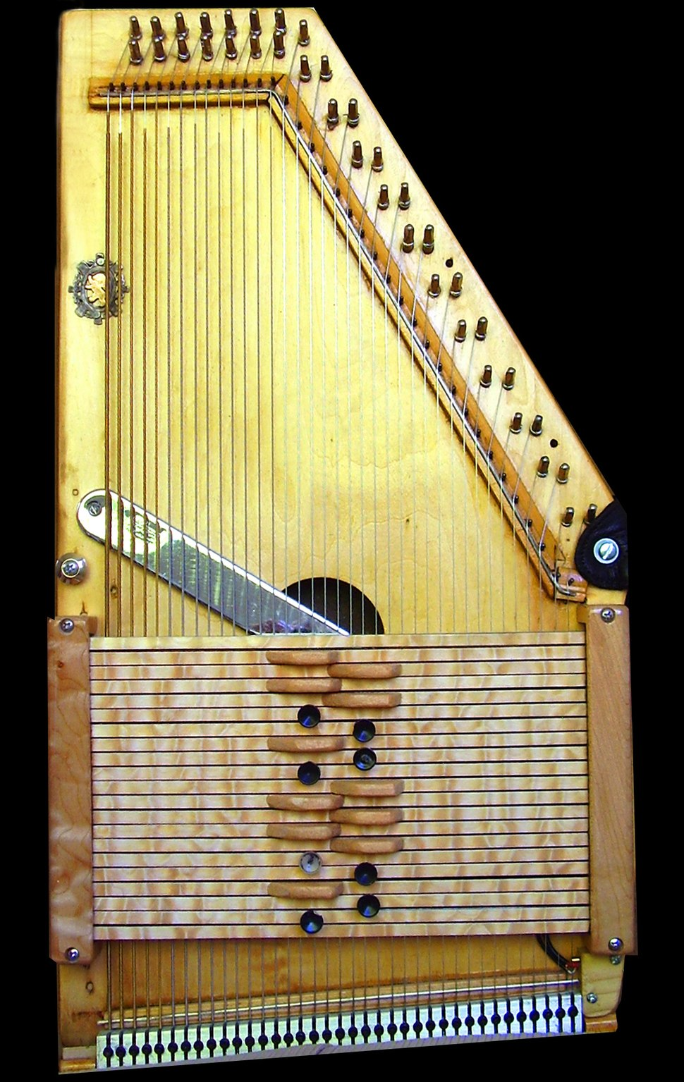 Autoharp of roger penney