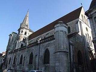 Church of Saint-Eusèbe, Auxerre Roman Catholic church in Auxerre, France