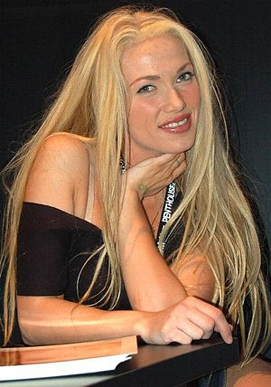 Ava Vincent - Vincent at the AVN Adult Entertainment Expo on January 5, 2006