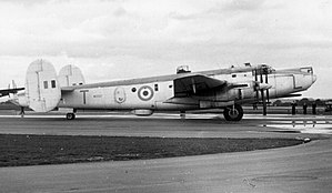 Avro Shackleton - Shackleton MR.2 of No. 220 Squadron RAF in September, 1955