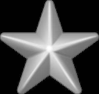 Earl E. Anderson - Image: Award star silver 3d