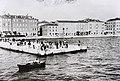 Az új rakpart (ma Obala Kralja Petra Krešimira IV), a képen látható épületek a II. világháborúban megsemmisültek. Fortepan 86977.jpg