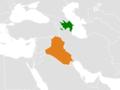 Azerbaijan Iraq Locator (cropped).png