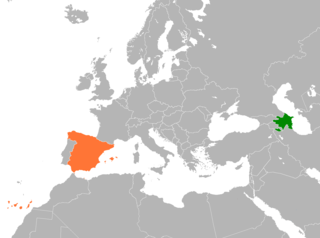 Diplomatic relations between the Republic of Azerbaijan and the Kingdom of Spain