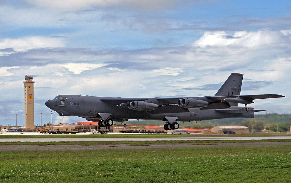 B-52 Stratofortress Takeoff