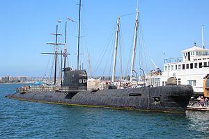 Soviet submarine B-39 - Image: B39Full SD Maritime Museum Sep 2014