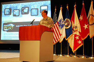 Ground Combat Vehicle - Vice Chief of Staff of the U.S. Army General Peter Chiarelli hosts the second industry day.