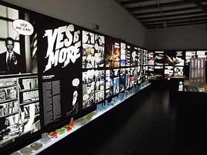 Danish Architecture Centre - From Yes is more, art exhibition about Bjarke Ingels Group