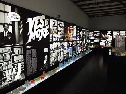 """Yes Is More"", Copenhagen, 2009 BIG Yes Is More exhibition at DAC 2009.JPG"