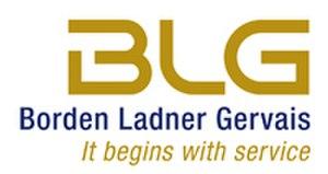 Borden Ladner Gervais - Image: BLG Logo En SM