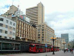 Bogotá, El sistema de transporte masivo de la capital colombiana es un ejemplo de urbanismo y desarrollo.