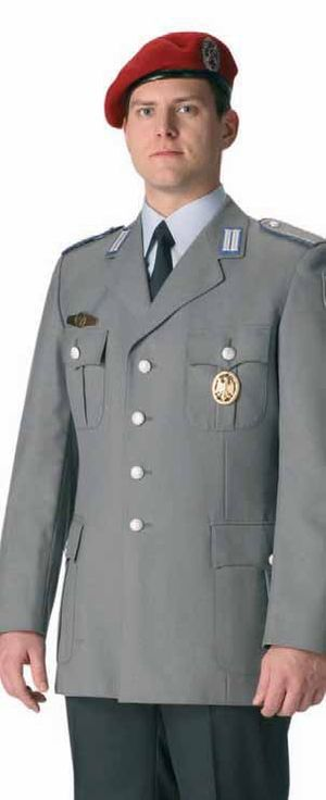 Feldgrau - Service dress in Hellgrau (German Bundeswehr)