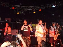 Bad Manners performing in California in 2007