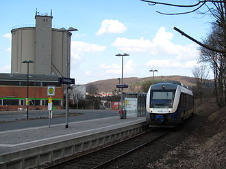 Lamme Valley Railway - Bodenburg halt (2011)