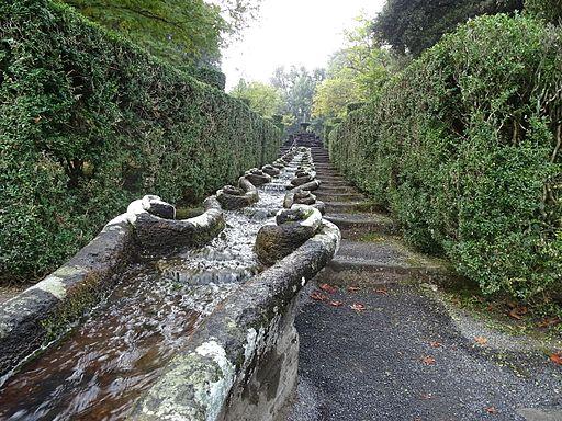 Fontana della Catena, in Villa Lante, Bagnaia