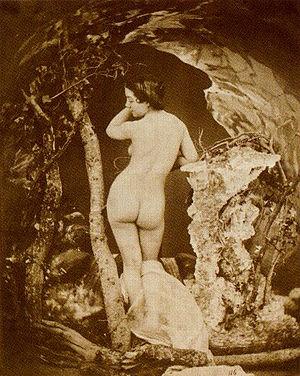 Auguste Belloc - Baigneuse, circa 1855