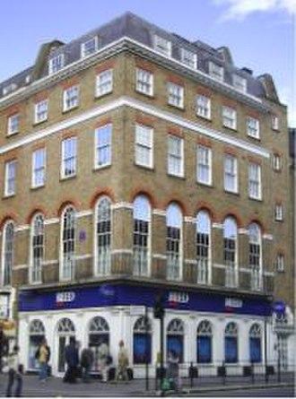 Baker Street - 94 Baker Street, formerly the Apple Boutique.