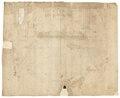 Baksidan av ritning, 1600-tal - Skoklosters slott - 98979.tif